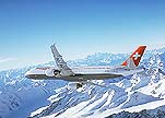 Swissair plane